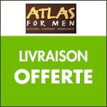 ATLAS FOR MEN vous offre les frais de livraison