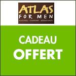 ATLAS FOR MEN, En cadeau un réveil offert pour toute commande !