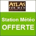 Atlas for Men : une station météo offerte !