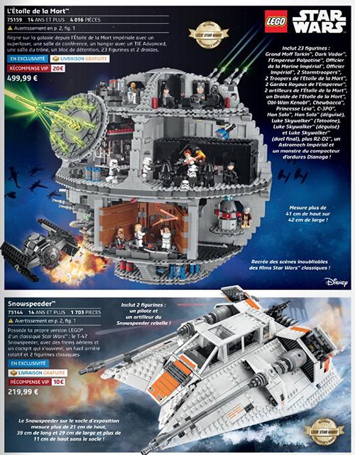 Découvrez toute la saga Lego Star-Wars
