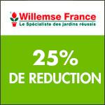 Willemse International : -25% sur une sélection de grands fruitiers