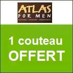 Atlas for Men : un couteau et son étui offerts