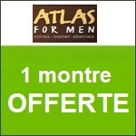 Atlas for men : une montre offerte