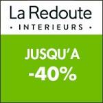 La Redoute Intérieurs: jusqu'à -40% sur le linge de maison !