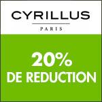 Cyrillus : 2ème démarque  jusqu'à -60% + 10% dès 3 articles soldés