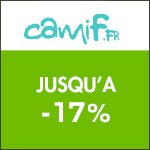 Camif : jusqu'à -17% sur les bureaux !
