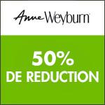 Anne Weyburn : jusqu'à -50% sur tout le site !