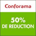 Conforama : -50% pour l'achat d'un matelas + un sommier Merinos