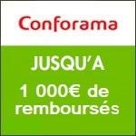 Conforama : jusqu'à 1 000€ Offerts !