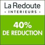 La Redoute Intérieurs : VENTES FLASH-  Remises jusqu'à - 40% sur tout le site