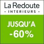 La Redoute Intérieurs : meubles, déco et literie jusqu'à -40%