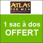 Atlas for Men : un sac à dos offert