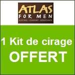 Atlas for Men : kit de cirage offert