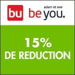 Adam et Eve : -15% de réduction dès 60€ d'achats