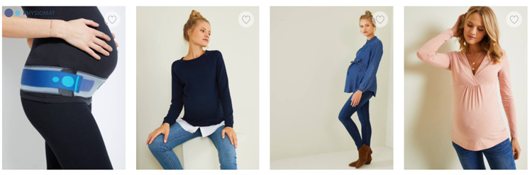 Cliquez ici pour voir la nouvelle collection future maman Vertbaudet
