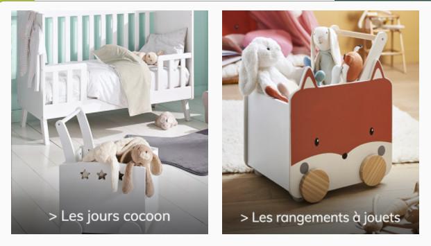 Découvrez de la belle décoration pour la chambre enfant