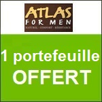 Atlas for Men : un portefeuille offert
