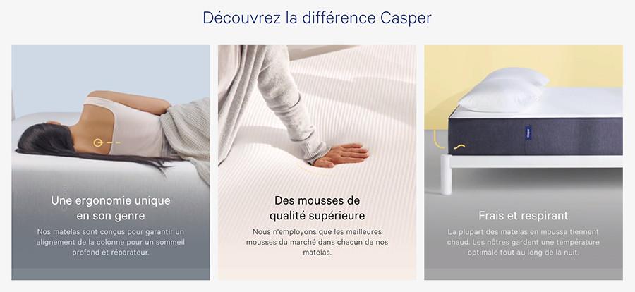 Cliquez ici pour voir toutes les offres Casper Sleep