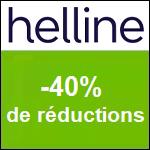 HELLINE :  40% sur votre article préféré