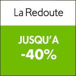 LA REDOUTE : Jusqu'à -50% sur le Linge de Maison + La Literie