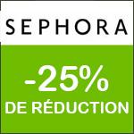 SEPHORA -  Soldes Jusqu'à -50% sur tout le site !