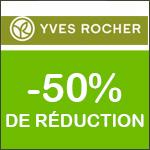 YVES ROCHER : - 50% sur TOUS les produits de Beauté, Parfums + CADEAU