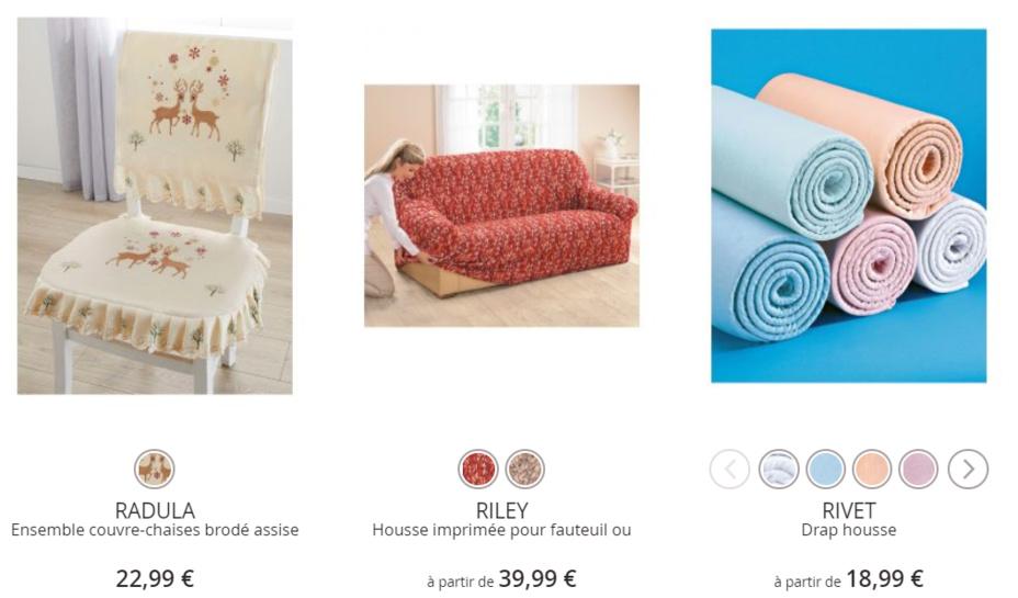 Cliquez ici pour voir tous les produits pour la Maison
