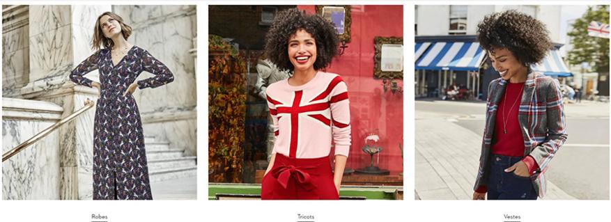 Cliquez ici pour voir toute la collection mode Femme BODEN