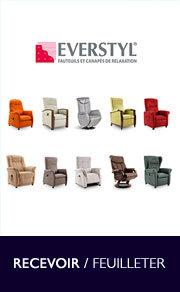Catalogue Everstyl Fauteuils Et Canapés De Relaxation à