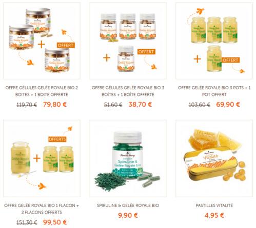Cliquez ici pour voir tous les produits à base de Gelée Royale