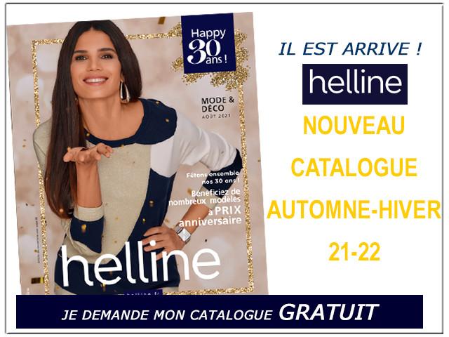HELLINE - Recevez le dernier catalogue GRATUITEMENT chez vous !