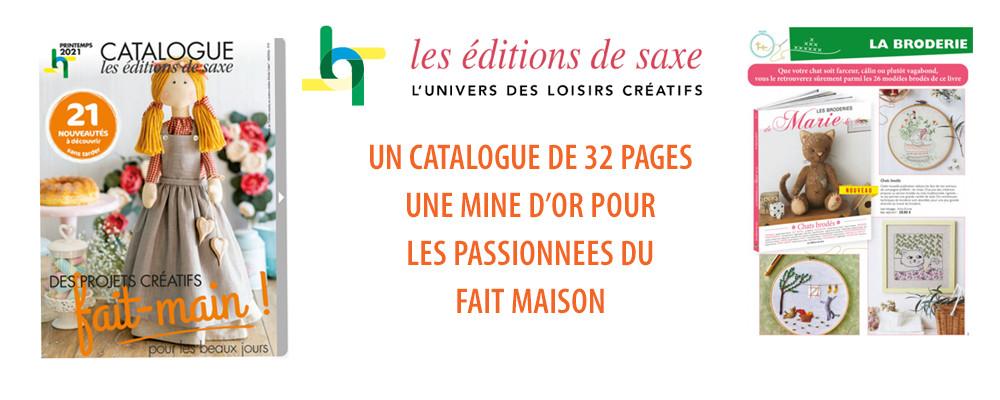 EDITIONS DE SAXE - Nouveau catalogue pour les passionnés du fait maison !