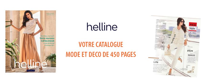 HELLINE - Nouveau catalogue Mode et Deco Printemps-eté 2021