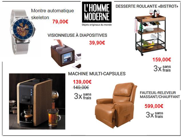 L'HOMME MODERNE - Les nouveautés de la rentrée !
