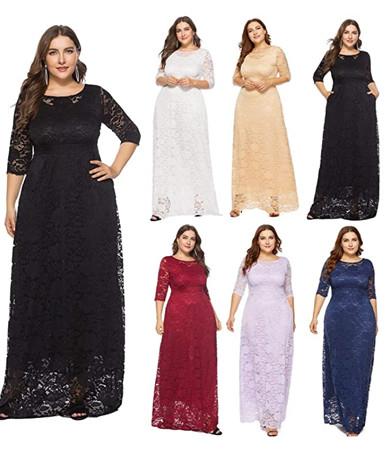 Voici un exemple de robe grande taille à découvrir ici. Son prix : 28€