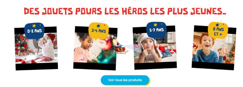 Découvrez tous les tops ventes Toys'R'us dans le catalogue Noël