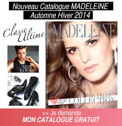 Le catalogue Madeleine
