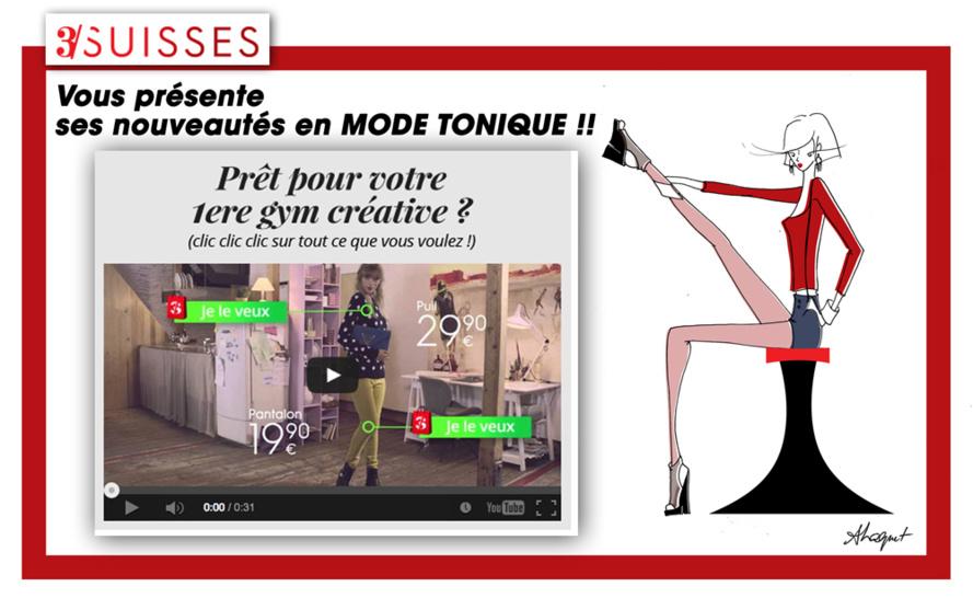 Nouveau Look 3 SUISSES pour une Mode Tonique !!