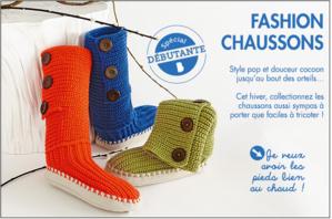 Fashion Chausson à tricoter