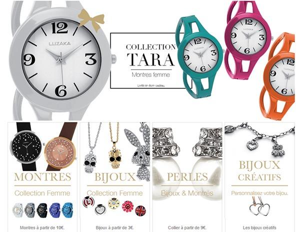 Montres, bijoux, perles... Tout à prix réduit