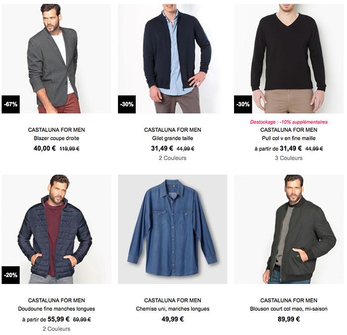 Castaluna For Men, cliquez ici pour accéder aux collections