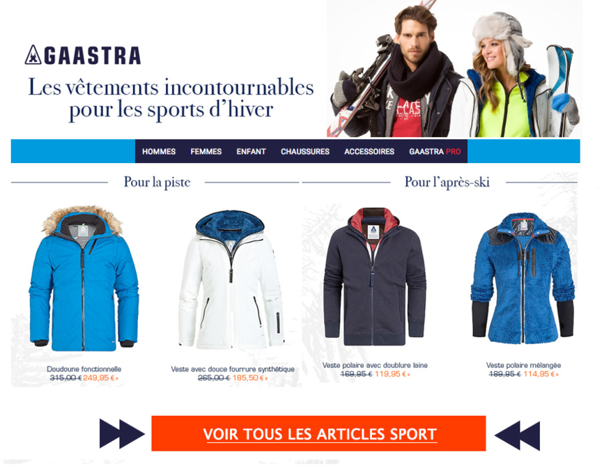 Cliquez pour découvrir la gamme GAASTRA