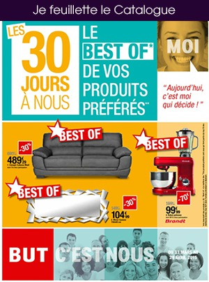 Des petits prix pour renouveler Frigo, Congélo, Tv, matelas ou équiper son studio avec BUT