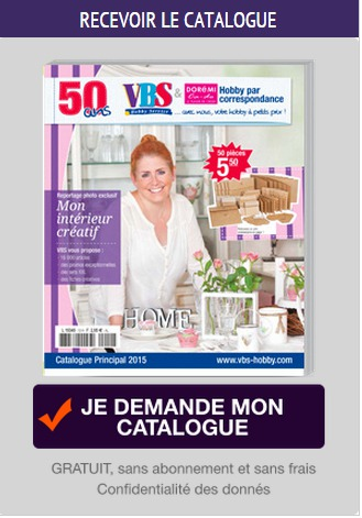 catalogue vbs hobby catalogue loisirs cr atifs. Black Bedroom Furniture Sets. Home Design Ideas