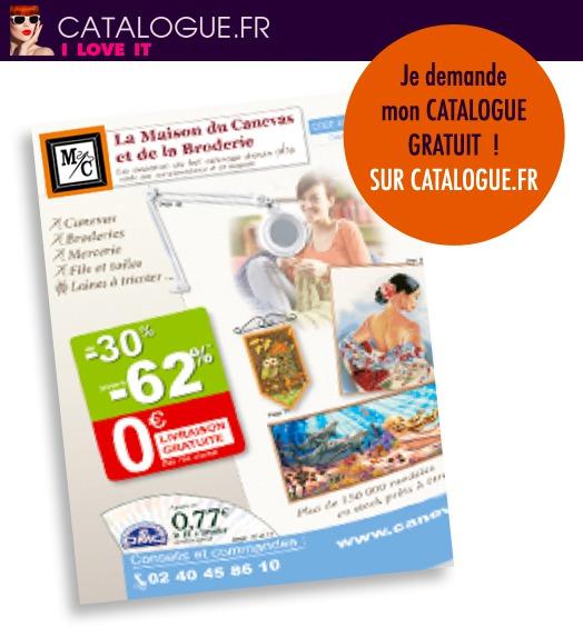 Nouvelle édition pour le catalogue LA MAISON DU CANEVAS !!