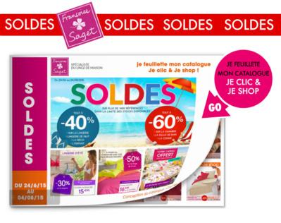 Françoise SAGET: BLANC, textile & la lingerie en SOLDES jusqu'à -50%