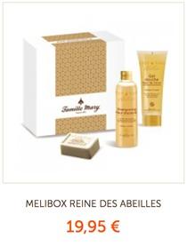 3/ Coffret beauté naturelle MELIBOX, des soins au miel pour retrouver douceur et une peau revitalisée !