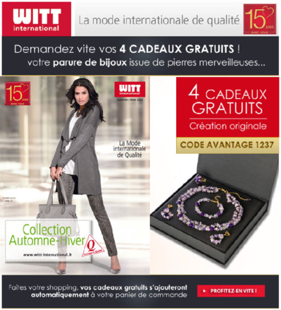 witt international le nouveau catalogue 4 superbes. Black Bedroom Furniture Sets. Home Design Ideas