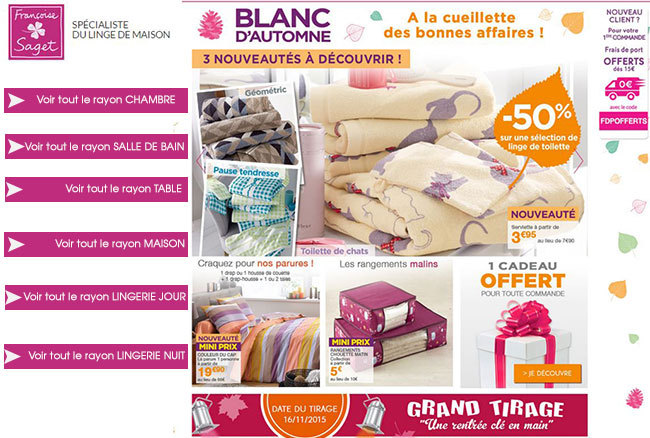 Collection Blanc d'Automne