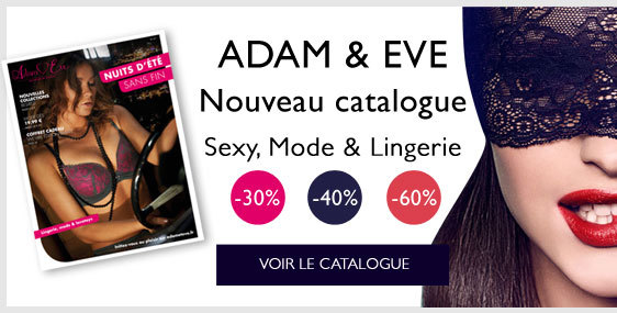 En EXCLUSIVITE : Le Catalogue Adam et Eve